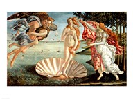 The Birth of Venus Art