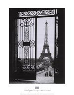 The Eiffel Tower from the Trocadero  Fine Art Print