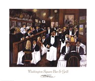 Washington Square Bar & Grill  Fine Art Print