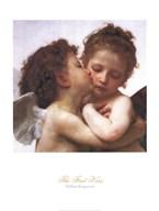 The First Kiss Art