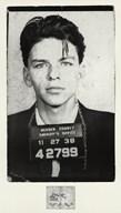 Frank Sinatra [Mugshot]  Fine Art Print