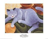 Cats & Pots  Fine Art Print