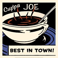 Cup'pa Joe Best in Town Art