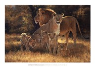 Pride's Proud Family  Fine Art Print