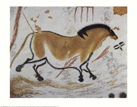 Yellow Horse  Fine Art Print