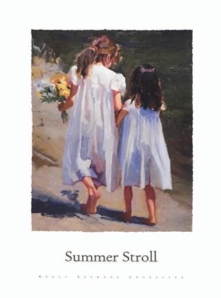 Summer Stroll Fine Art Print By Nancy Seamons Crookston At