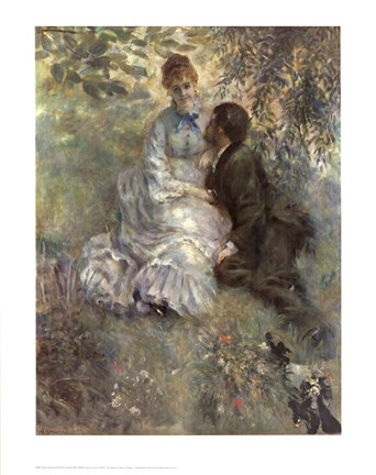 Framed Idylle (Lovers) Print