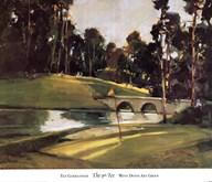 The 9th Tee  Fine Art Print