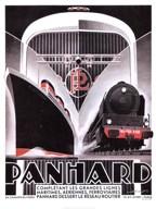 Panhard Lines 16x12  Fine Art Print