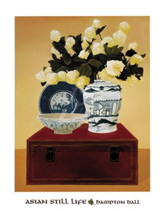 Framed Asian Still Life III Print