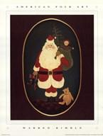 Santa with Toys Art