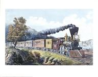 American Express Train  Fine Art Print