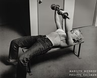 Marilyn Monroe, Hollywood (with weights), c.1952 Art
