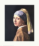 Girl with a Pearl Earring, c.1665 Art