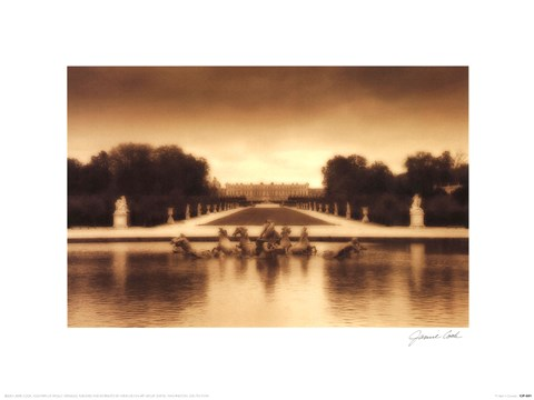 Framed Fountain of Apollo, Versailles Print
