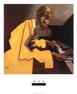 Piano Man  Fine Art Print
