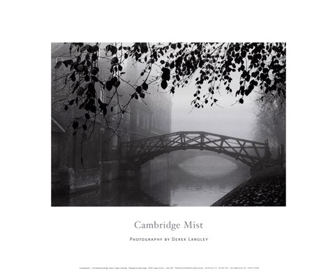 Framed Cambridge Mist Print