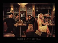 Blue Plate Special  Fine Art Print