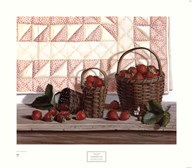 Strawberry Time  Fine Art Print
