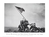 Flag Raising on Iwo Jima, February 23, 1945  Fine Art Print