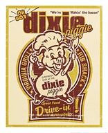 Dixie Piggie Drive-in Art