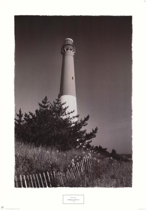 Framed Barnegat Lighthouse Print