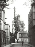 Statue of Liberty in Paris, 1886 Art