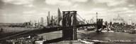 The Brooklyn Bridge  Fine Art Print