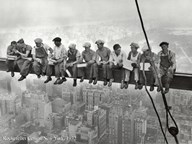 Lunchtime Atop a Skyscraper, c.1932 Art