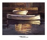 Barcas al Atardecer Art