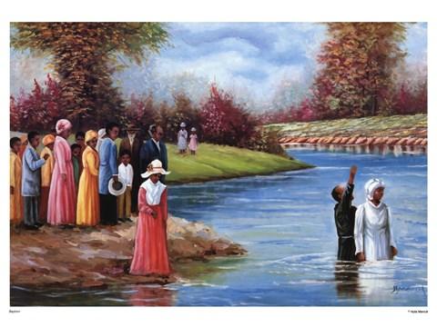 Baptism Fine Art Print By Hulis Mavruk At Fulcrumgallery Com