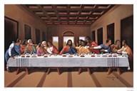 Last Supper (black)  Fine Art Print