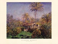 Small Country Farm at Bordighera  Fine Art Print