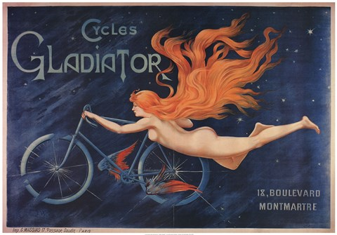 Framed Cycles Gladiator Print