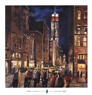New York Night  Fine Art Print