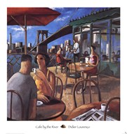 Cafe by the River Art