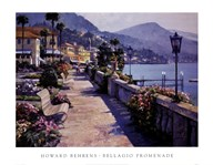 Bellagio Promenade  Fine Art Print