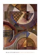 Circular Rhythms I  Fine Art Print