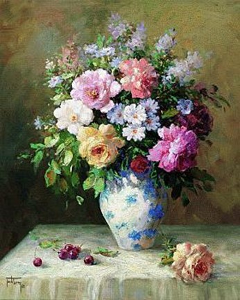 Spring Bouquet Ii Fine Art Print By Jack Terry At