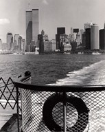 World Trade Center from Staten Island Ferry (small) Art