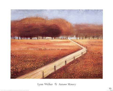 Framed Autumn Memory Print