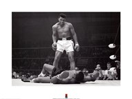 Muhammad Ali - 1965 1st Round Knockout Against Sonny Liston  Fine Art Print