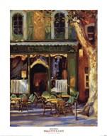 Paulette's Cafe  Fine Art Print