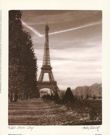 Framed Eiffel Tower Day Print