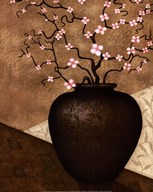 Cherry Blossom in Vase Art