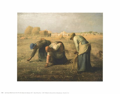 Framed Gleaners Print