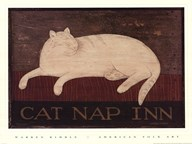 Cat Nap Inn Art