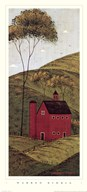 Country Panel II - Barn  Fine Art Print