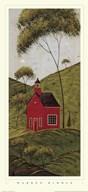 Country Panel IV-School House  Fine Art Print