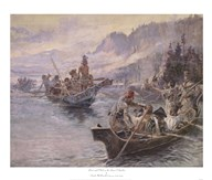 Lewis and Clark On The Lower Columbia Art
